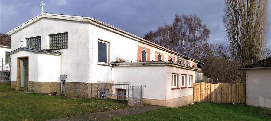 Renovierung der Kirche in Borgentreich durch die Koptische Kirche und mit Spenden. Foto: Bischof Anba Damian