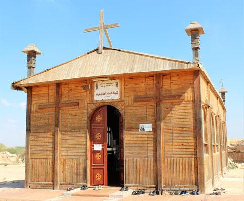 Kapelle der Ausgrabungsstätte in Abu Mena. Foto: Elfriede Putzer