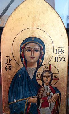 Ikone der Hl. Jungfrau Maria und Jesus-Kind. Foto: Jennifer Peppler