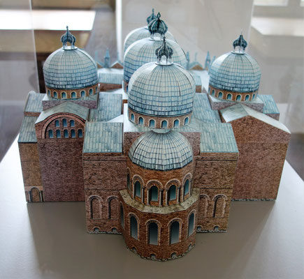 Basilika di San Marco in Venedig (Rückansicht). Foto: Jennifer Peppler