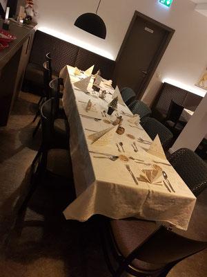 Inneneinrichtung des St. Markus Restaurants.