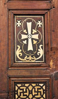Koptisches Kreuz. Foto: Elfriede Putzer
