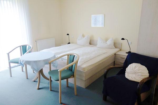 Doppelzimmer Standard im St. Markus Gästehaus. Foto: Jennifer Peppler