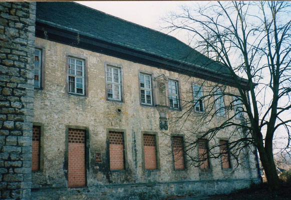 Zugemauerte Fenster 1996