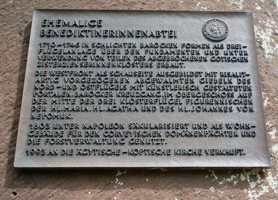 1993 Übernahm die Koptische Kirche das Kloster in Brenkhausen. Foto: Jennifer Peppler