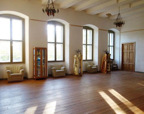 Die Tagungsräume im Obergeschoss des Westflügels. Foto: Jennifer Peppler