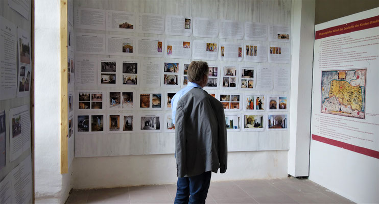 """Die neue Ausstellung """"25 Jahre Koptisches Kloster Brenkhausen"""". Foto: Jennifer Peppler"""