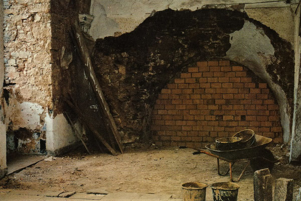 Der Altar-Raum des Koptischen Klosters 1993