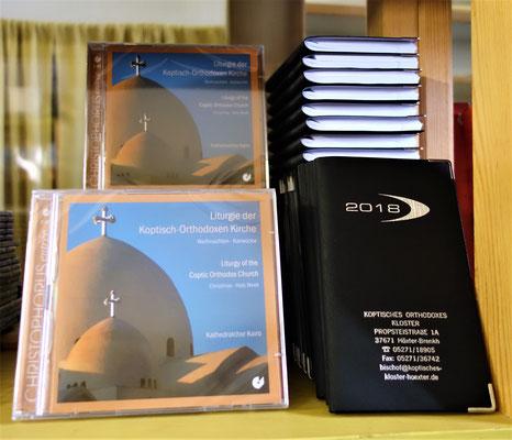 Liturgie der Koptisch-Orthodoxen Kirche,  Kathedralchor Kairo und Terminplaner. Foto: Jennifer Peppler