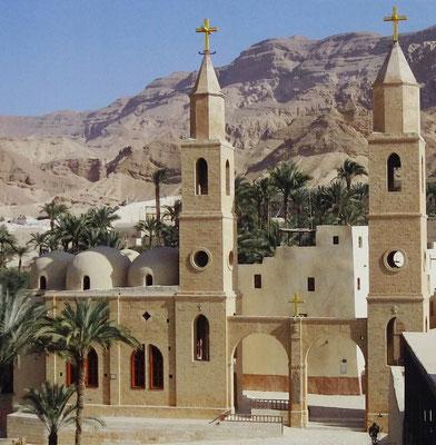 Das St. Antonius-Kloster in Ägypten. Foto: Christian Hohmann.