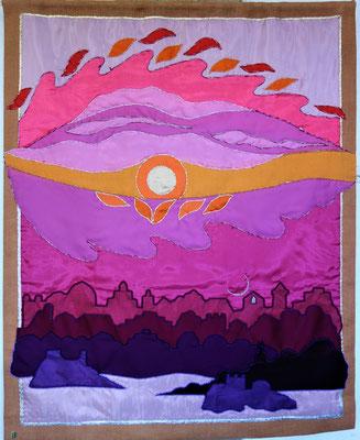 """""""Hügel der Morgenröte"""" von Traute Multhaupt. Foto: Jennifer Peppler"""