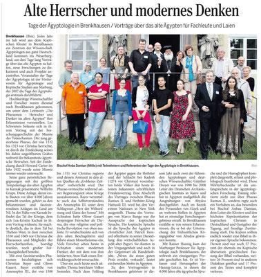 Quelle: Täglicher Anzeiger Holzminden vom 28.07.2014, Artikel von Frank Müntefering