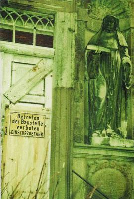 Betreten der Baustelle verboten 1996
