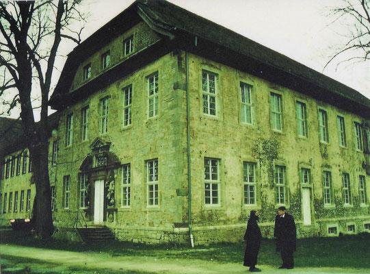 Einsetzung der Fenster 1996