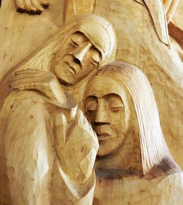 """7. Seligpreisung: """"Selig die Frieden stiften; denn sie werden Söhne und Töchter Gottes genannt werden."""" (Matthäus 5,9). Foto: Jennifer Peppler"""