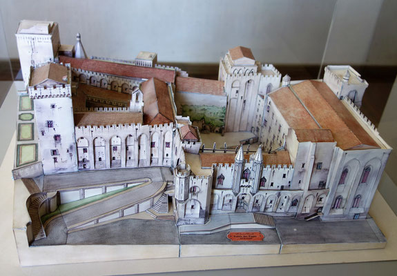 Der Papstpalast in Avignon (ca. 1335-1430). Foto: Jennifer Peppler