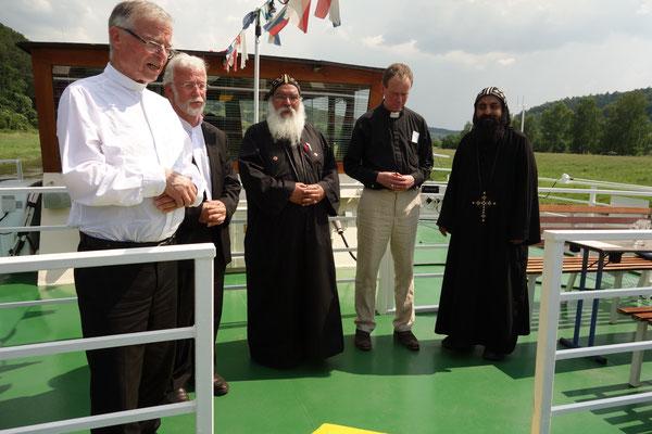 Gebete und Segnung der Weser. Foto: Jennifer Peppler
