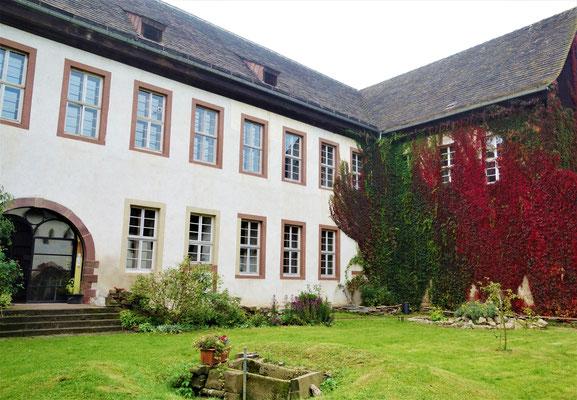 Der Klostergarten.  Foto: Jennifer Peppler