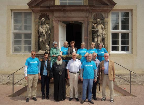 Das UNICEF-Team vn Höxter, das das Kinderfest erst ermöglichte durch viel ehrenamtliches Engagement. Foto: Jennifer Peppler