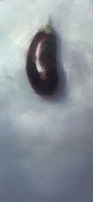 MELANZANI, 60x40cm, Öl auf Leinwand