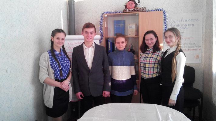 ... участі в шкільному житті. Зустріч лідерів пройшла у теплій дружній  атмосфері. Активісти ЗОШ №20 дуже раді ec45ece4cdd6b