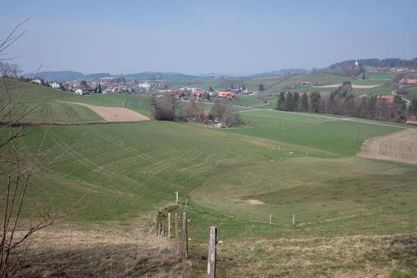 auf dem Weg zurück nach Schwarzenburg
