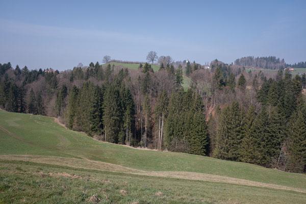 unten fliesst der Dorfbach