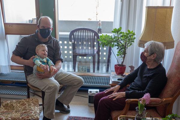 04.04.21 – Besuch bei Josephine Schirach im Jolimont in Bern