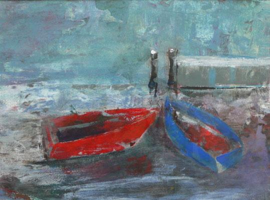 Boote auf der Ostsee