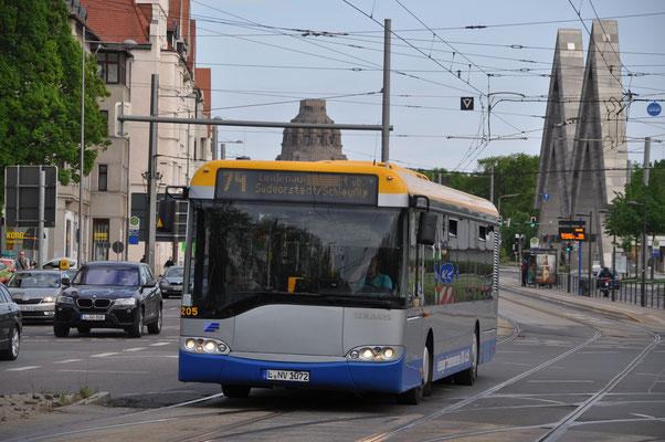 12205 im Mai 2015 auf der Prager Straße