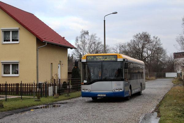 12206 im Dezember auf dem Blanchardweg in Großzschocher
