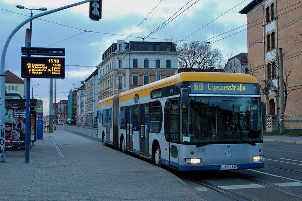 Ebenfalls am Adler der Bus 14077 am 27.12.16