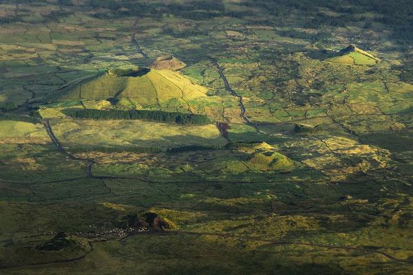 Abstieg vom Montanha do Pico - früh am Morgen