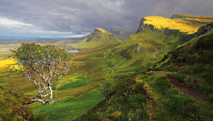 The Trotternish Ridge, Felsengarten von Quiraing