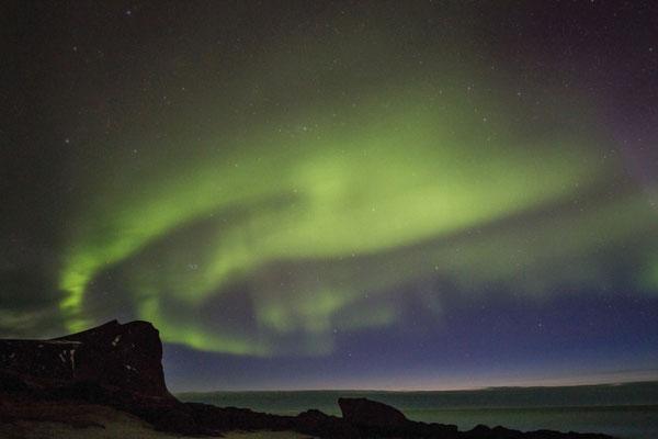 Aurora borealis 2 - Myrland
