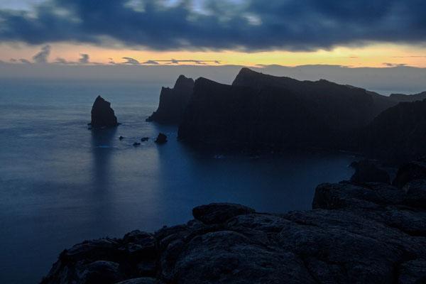 Blaue Stunde am Cabo de San Lorenzo