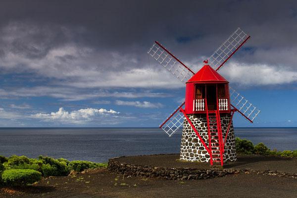 Moinhos de vento - Wahrzeichen der Azoren