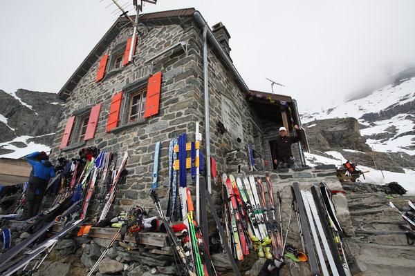 Die Cabane de Valsorey liegt an der klassischen Haute-Route