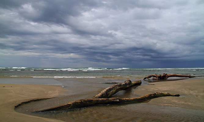 Karibikküste bei Puerto Viejo