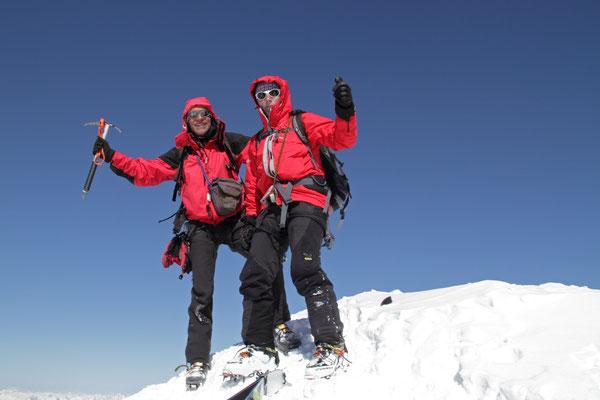 3851m - Am Gipfel der Königspitze