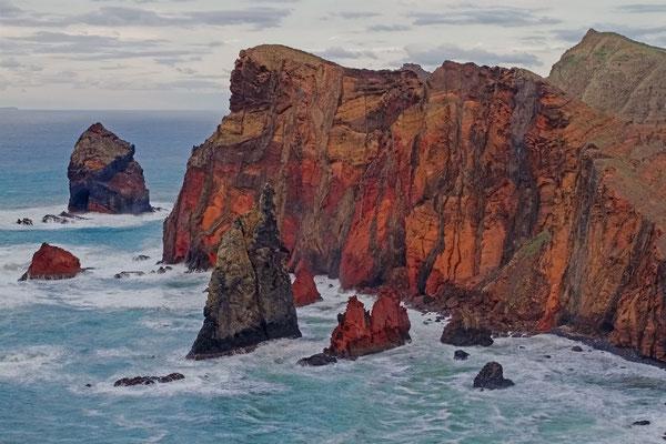 Abendstimmung am Cabo de San Lorenzo (HDR aus 3 Aufnahmen)
