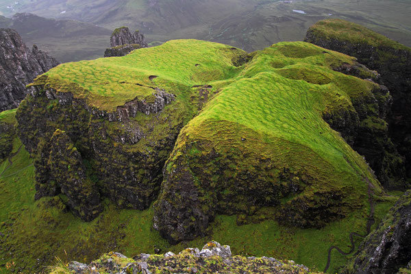 Trotternish Ridge, Felsengarten von Quiraing
