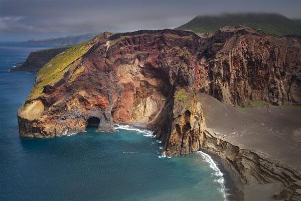 Faial - Ponta dos Capelinhos, Nordküste