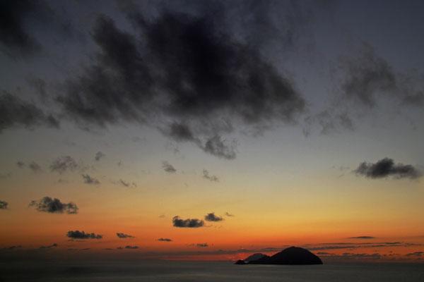 Liparische Inseln: Blick nach Filicudi und Alicudi