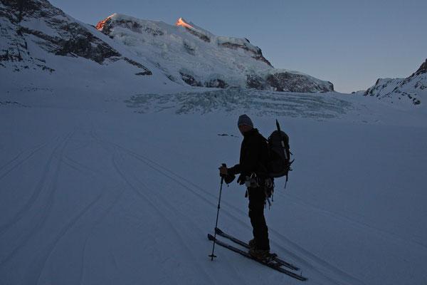 Der Glacier de Corbrassière