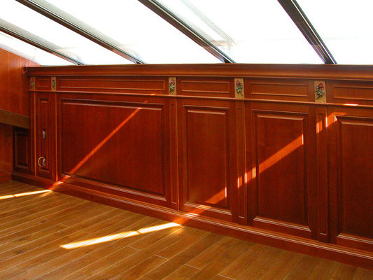 Classical wall paneling