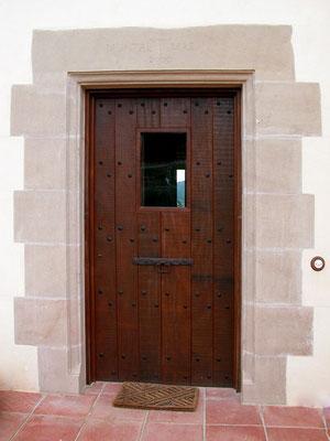 Porta d'entrada rústica