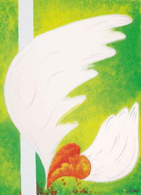 CO-H1 Heiles Herz / Acryl auf Leinwand  /  30x40 / nur noch als Kunstdruck/Karte erhältlich