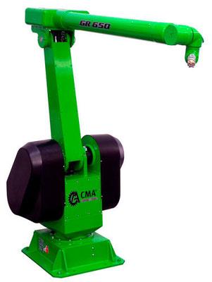 robot industriel 6 axes peinture auto CMA Robotics hdpr