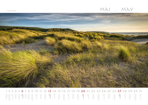 Calendar Wales 2018, Whiteford Sands